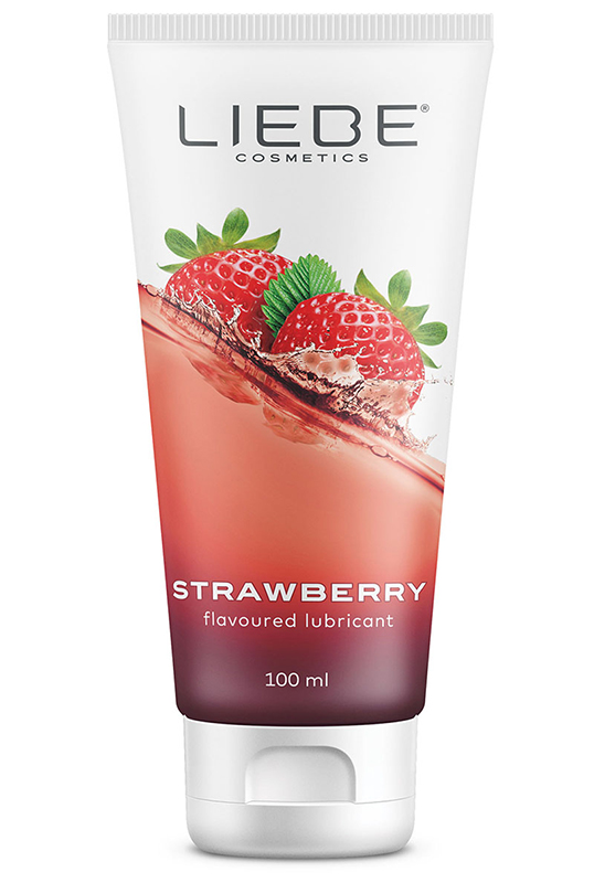 Lubricant Strawberry 100 ml.